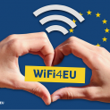 В град Павликени вече работи новоизградената публична мрежа за свободен достъп до интернет по инициативата WiFi4EU