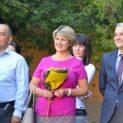 """Весела Лечева и Петко Тюфекчиев бяха гости на първия учебен ден в СУ """"Вела Благоева"""""""