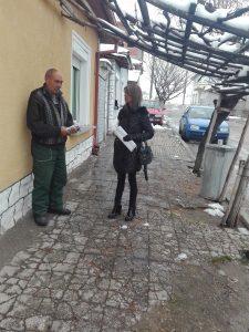 Здравният медиатор към Община Павликени Лидия Димитрова помогна на възрастна самотна жена