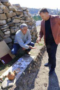 Кметът Панов посети разкопките на Представителния комплекс на Трапезица