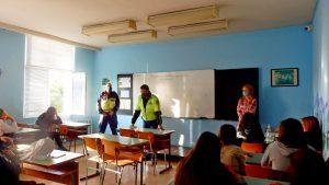 Лясковските ученици се включиха в отбелязване на Дните на безопасността на пътя (ROADPOL) и Европейската седмица на мобилността