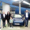 Лясковчанинът Петър Нешев – с нов автомобил Tesla от МЕТРО!