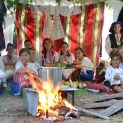 Малки деца и майстори кулинари се състезаваха на Празника на кокошата чорба в Козаревец