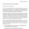 Междупартийна група от членове на Европейския парламент иска да възроди културата на дебатите