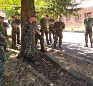 Пожарникари и военни с обща тренировка в Горна Оряховица