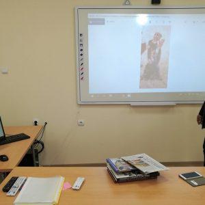 Проф. Пламен Павлов изнесе първата за ВТУ лекция на живо за ученици и студенти