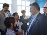 Спортни обувки получиха децата от училището по занаяти в Русаля от ВМРО