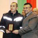Търновски пожарникар отличен в класацията на МВР за Спортист на годината