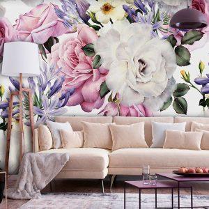 Лесна и красива декорация на дома със самозалепващи фототапети